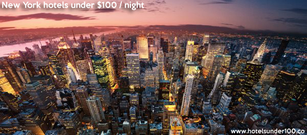 new york city hotels under 100 dollars